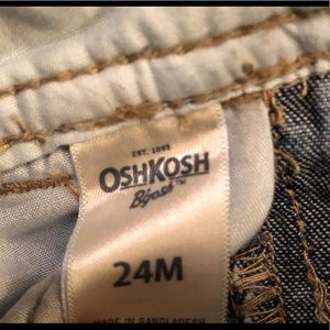 OshKosh B'gosh Bottoms - OSHKOSH B'gosh- Infant Boys Overalls